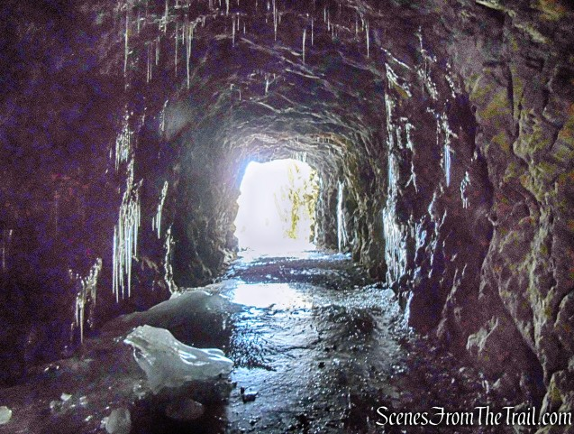 railroad tunnel - Pinney Loop Trail