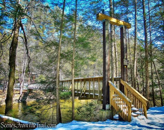 Hauser footbridge