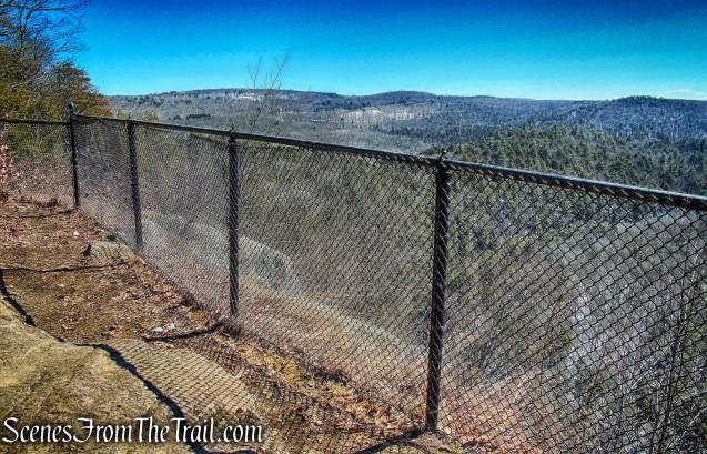 Steep Rock summit