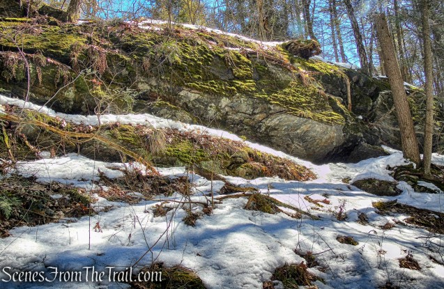 rock formation - Upper Loop Trail