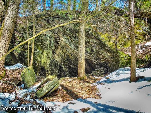 natural stone shelter - Upper Loop Trail