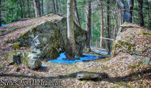 rock formation - Lower Loop Trail