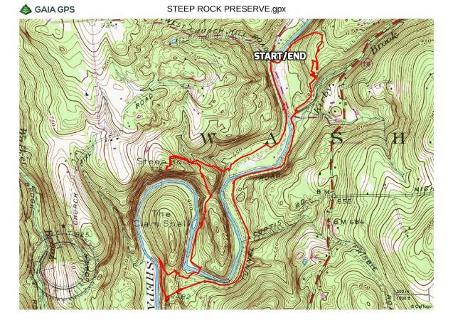 Steep Rock Preserve Loop