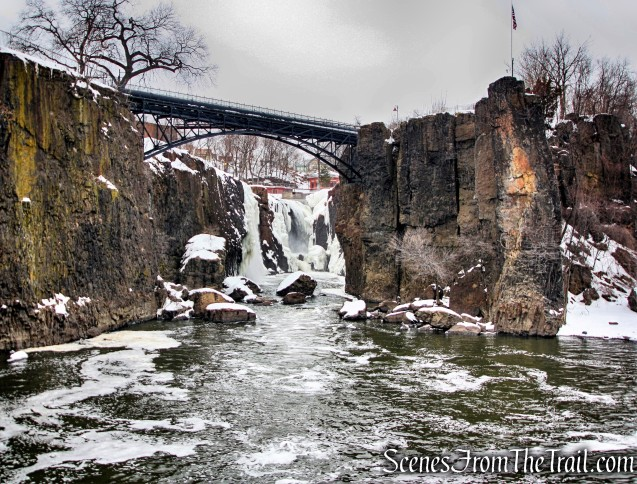 Great Falls of the Passaic River - March 7, 2015