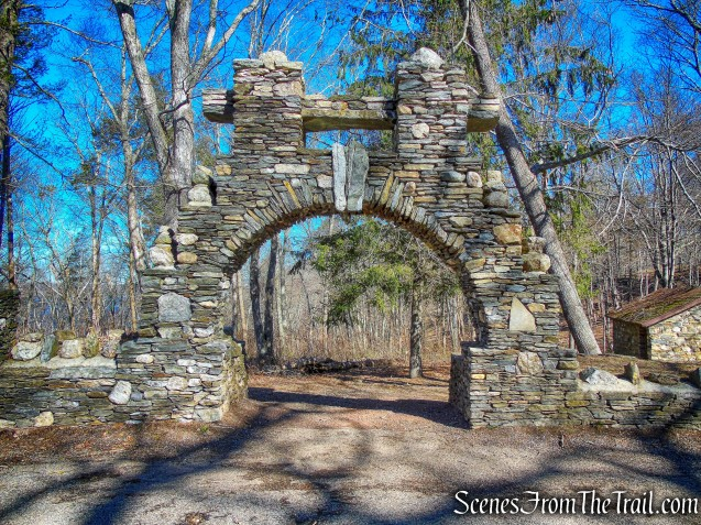 stone arch - Gillette Castle State Park