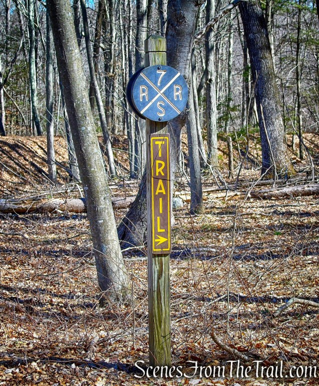 Seven Sisters Railroad - Gillette Castle State Park