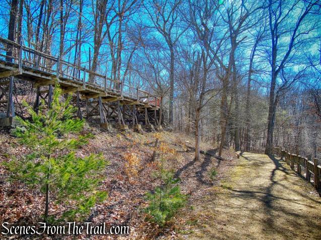 trestle - Gillette Castle State Park