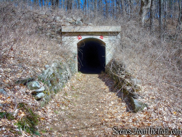 train tunnel - Gillette Castle State Park
