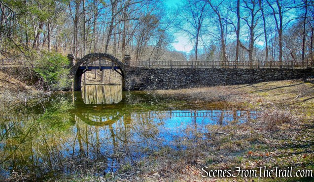stone-arch bridge - Gillette Castle State Park