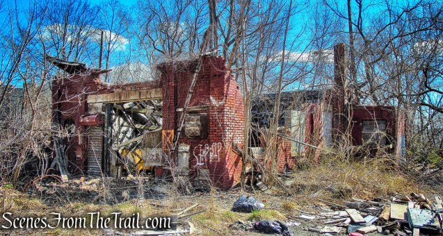ruined building - Ryle Road