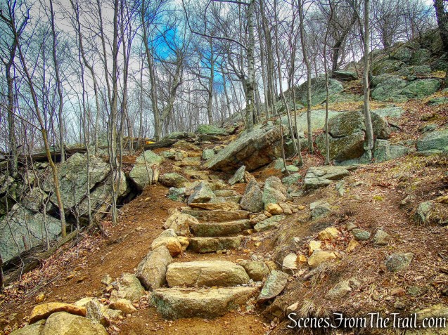 stone steps - Appalachian Trail