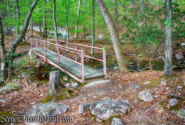 footbridge - Otter Hole Trail