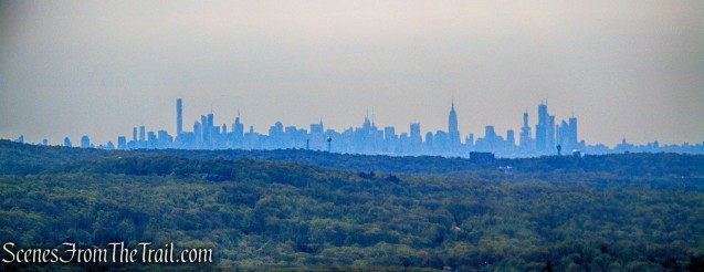 Manhattan skyline - Wyanokie High Point