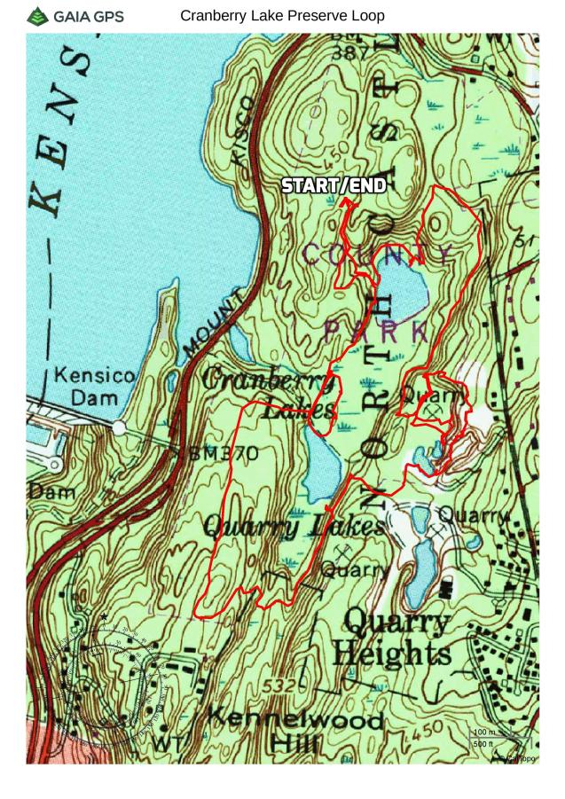 Cranberry Lake Preserve Loop