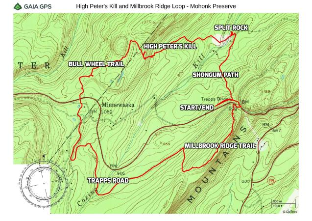 High Peter's Kill and Millbrook Ridge Loop