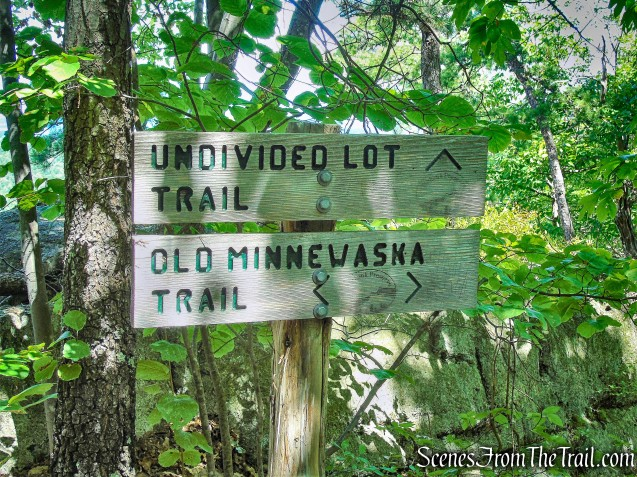 stay on Old Minnewaska Trail