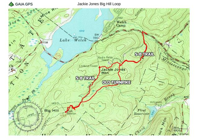 Jackie Jones and Big Hill Loop