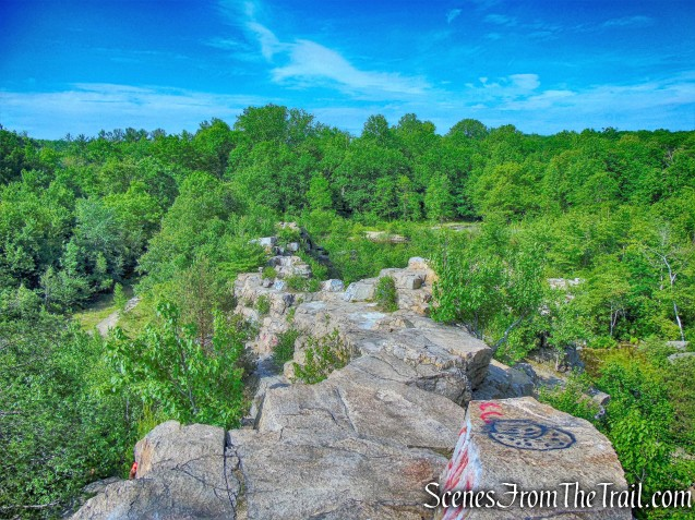 quarry cliffs - Purple History Loop