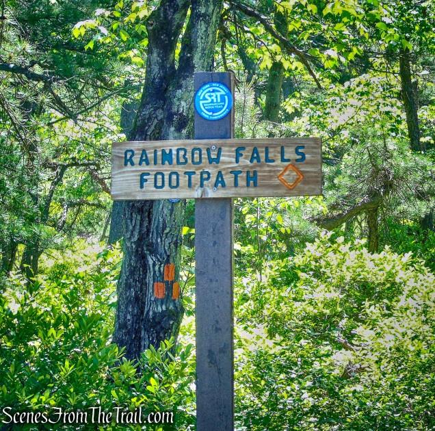 Rainbow Falls Footpath
