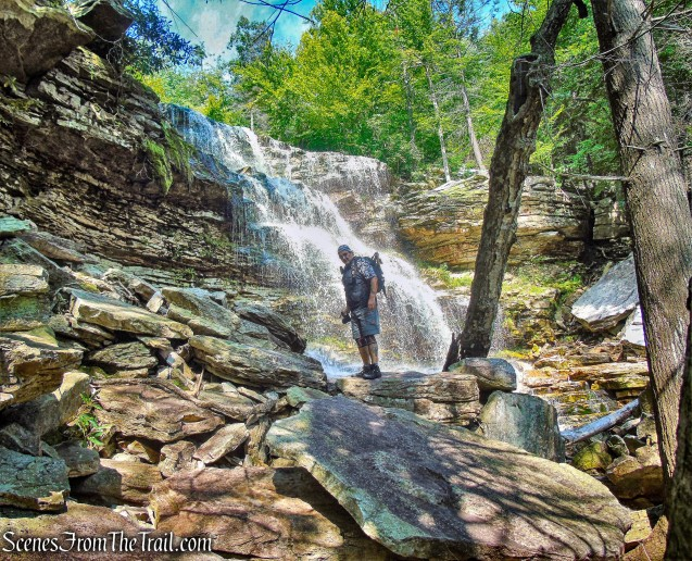 Chasing Waterfalls Along the Peter's Kill