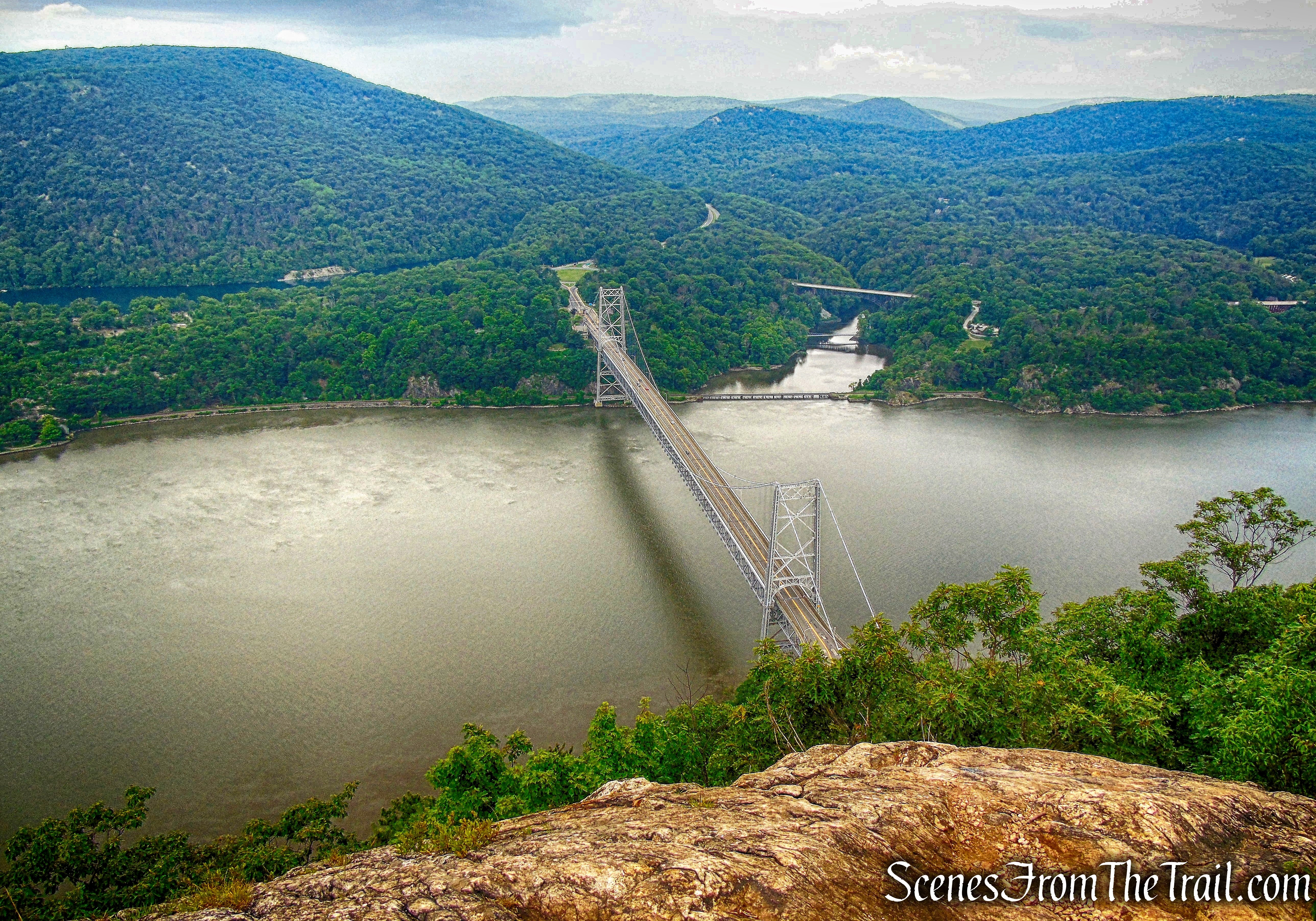 Bear Mountain Bridge - Anthony's Nose