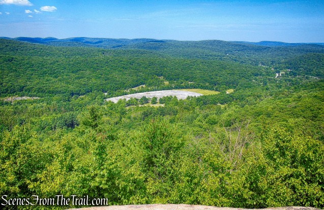 west-facing viewpoint - Appalachian Trail