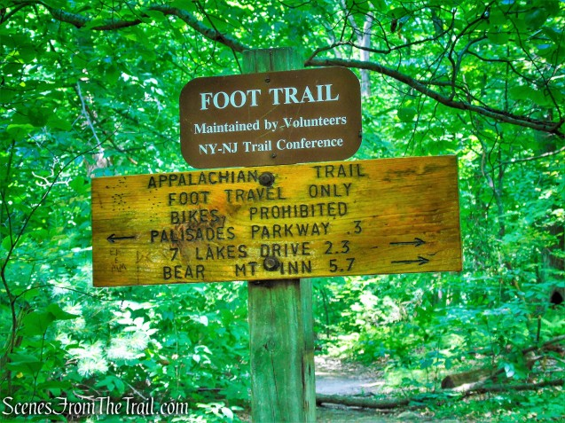 Appalachian Trail junction