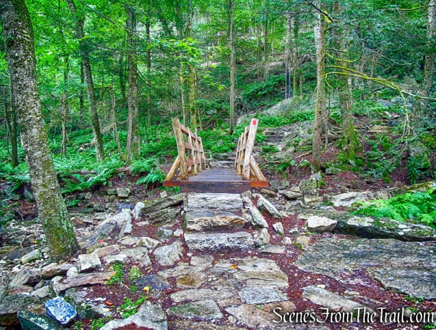 footbridge - Stony Kill Falls Trail