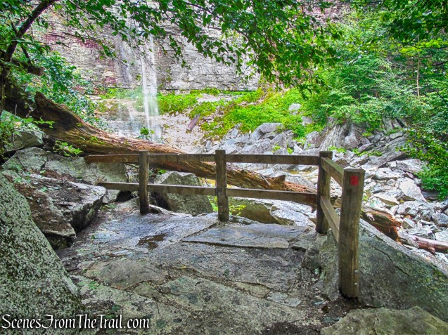 viewing platform - Stony Kill Falls Trail