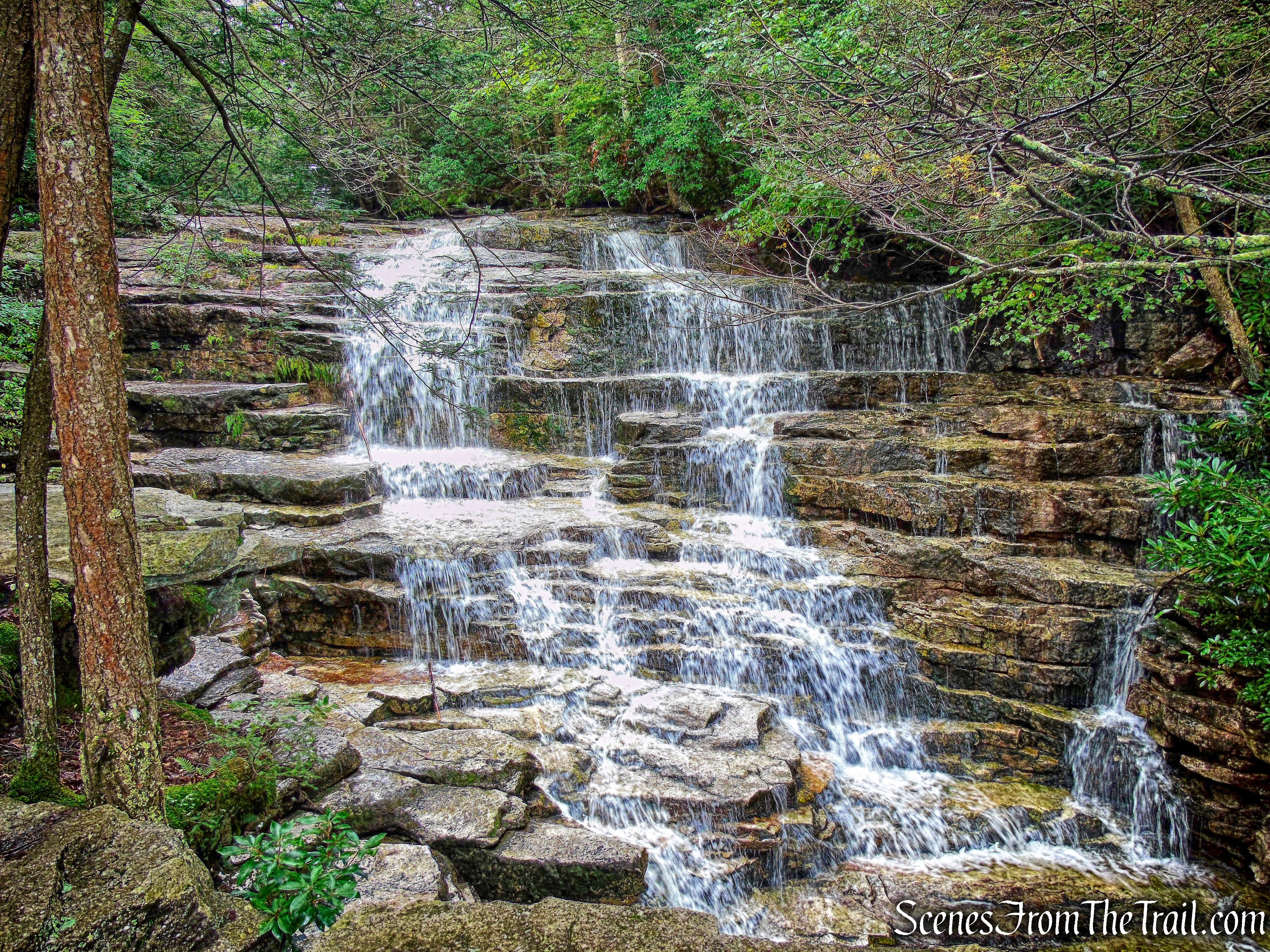 upper falls – Stony Kill Footpath - August 18, 2018
