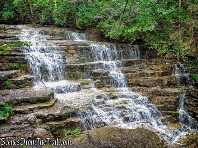 upper falls - Stony Kill Falls Trail
