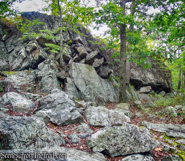 rock formation - Timp-Torne Trail