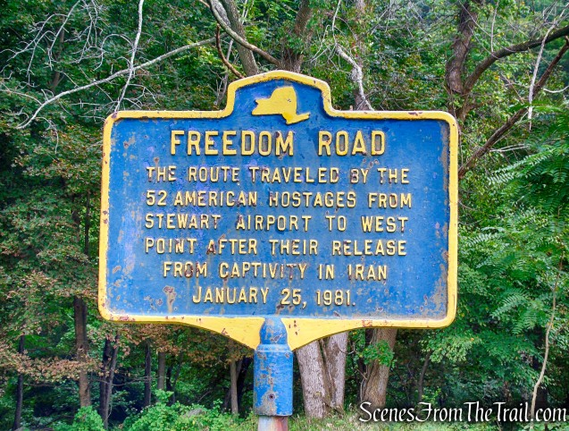 Freedom Road Parking Area
