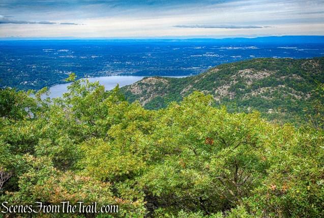 north-facing view - Washburn Trail