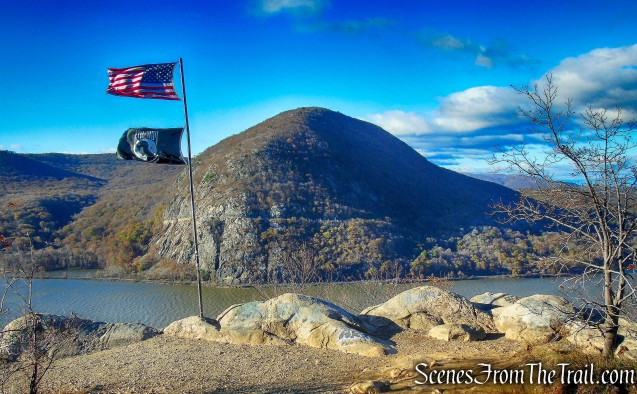 Storm King Mountain as viewed from Breakneck Ridge - November 17, 2017
