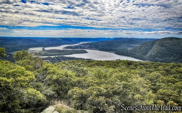 south-facing view - Washburn Trail