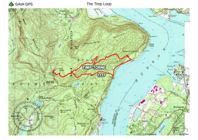 The Timp Loop via 1777 Trail