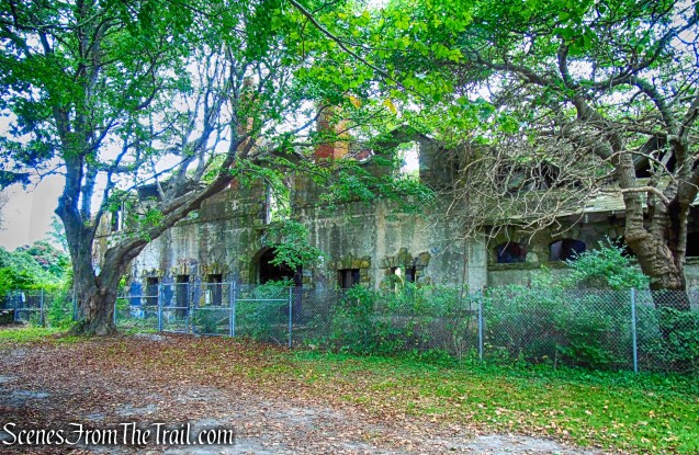 carriage house - Brenton Point State Park