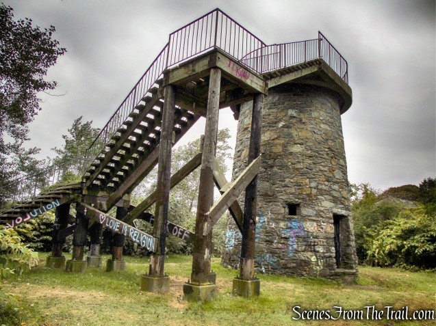observation tower - Brenton Point State Park