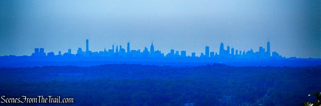 Manhattan skyline - Little Tor