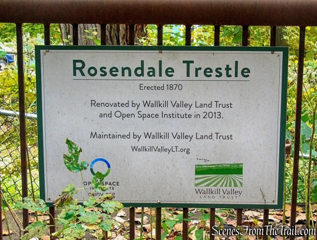 Rosendale Trestle