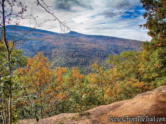 view from Escarpment Trail