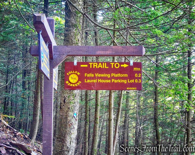 turn right on Kaaterskill Falls Trail