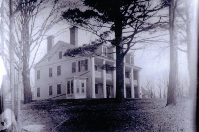 The Cruger/Fox House - Photo courtesy of the estate of Edwin Ripley