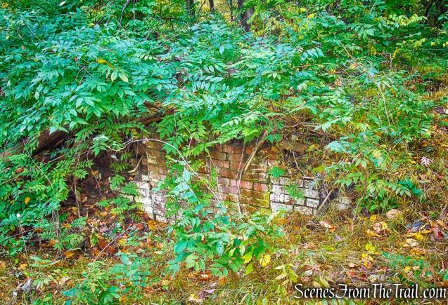 brick ruins - George's Island Park