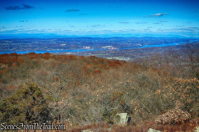view from Lambs Hill - Fishkill Ridge Trail