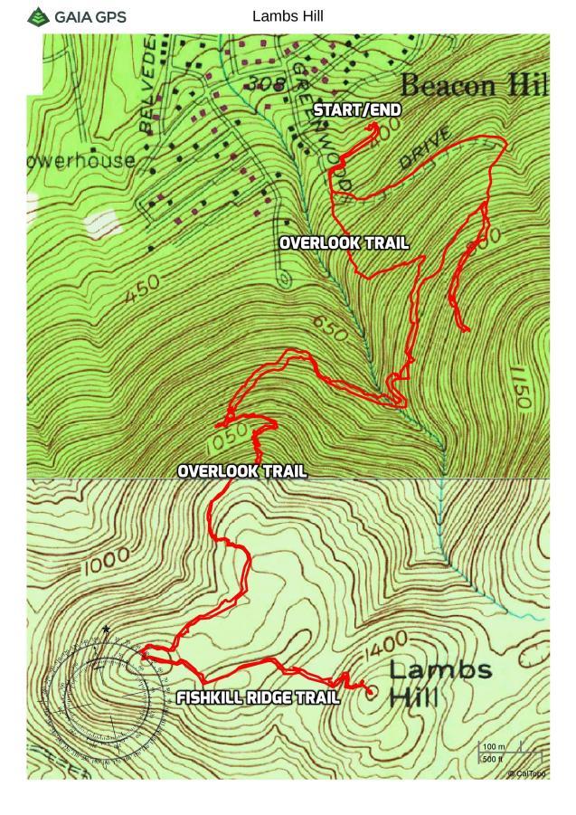 Lambs Hill - Fishkill Ridge Conservation Area