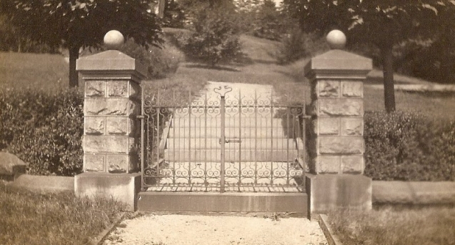 Main Gate - McAndrews Estate
