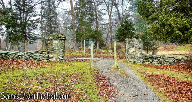 Eleanor Roosevelt National Historic Site parking