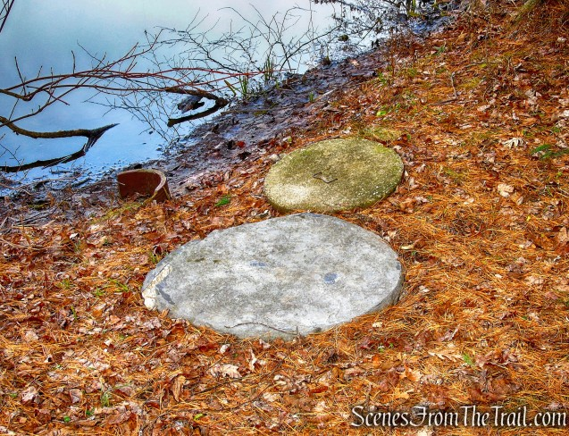millstones - Hyde Park Trail